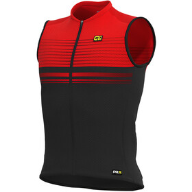 Alé Cycling Graphics PRR Slide Sleeveless Jersey Herre black/red